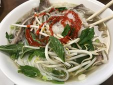 Free Dish, Food, Pho, Soup Stock Photo - 124939740