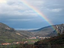 Free Rainbow, Sky, Highland, Meteorological Phenomenon Stock Photo - 124940190
