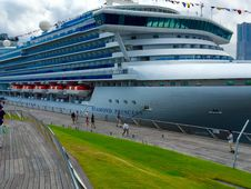 Free Passenger Ship, Cruise Ship, Water Transportation, Ship Royalty Free Stock Photos - 124940288
