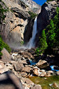 Free Yosemite Falls, Yosemite National Park Stock Images - 1251904