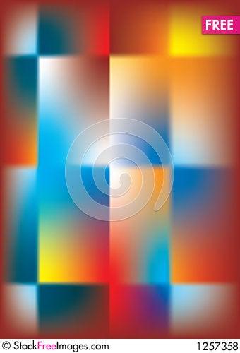 Abstract Cross Stock Photo