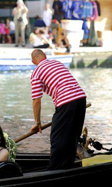 Free Venice - Gondola Series Royalty Free Stock Photos - 1250208