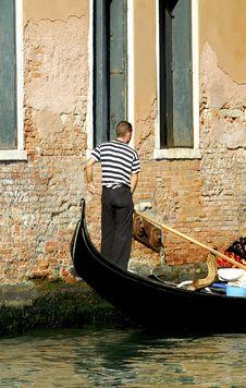 Free Venice - Gondola Series Royalty Free Stock Photography - 1250287