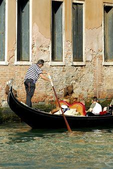 Free Venice - Gondola Series Stock Images - 1250364