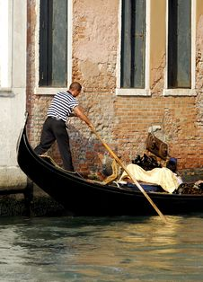 Free Venice - Gondola Series Stock Images - 1250374