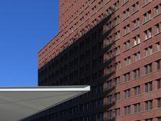 Shadow On Brickwork Royalty Free Stock Photography