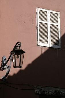 Free Lamp And Window_Meran 2006 Royalty Free Stock Images - 1250829