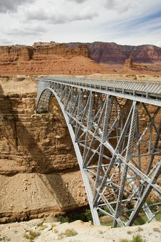 Navajo Bridge Royalty Free Stock Photography