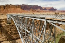 Free Navajo Bridge Stock Photography - 1251102