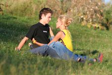 Free Couple Boy And Girl Royalty Free Stock Photo - 1251295