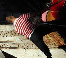 Free Venice - Gondola Series Royalty Free Stock Image - 1251566