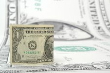 Free One Dollar Bill Royalty Free Stock Photos - 1251568