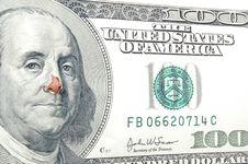 Free Nose For Money Stock Photos - 1251603