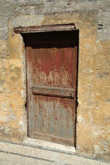 Free Wooden Door Stock Photography - 1251652