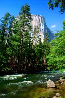 Free El Capitan, Yosemite National Park Royalty Free Stock Photos - 1251778