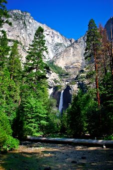Free Yosemite Falls, Yosemite National Park Stock Photography - 1251892