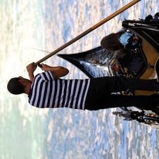 Free Venice - Gondola Series Royalty Free Stock Photos - 1252158