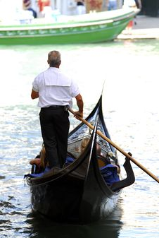 Free Venice - Gondola Series Royalty Free Stock Images - 1252169