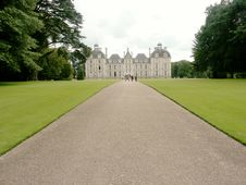 Cheverny Castle, France Stock Photography