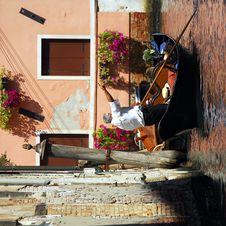 Free Venice - Gondola Series Royalty Free Stock Photography - 1252467