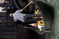 Free Venice - Gondola Series Royalty Free Stock Photos - 1252678