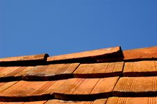 Free Roof As Background Royalty Free Stock Photography - 1253267