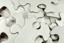 Free Puzzle Pieces Royalty Free Stock Photos - 1253438