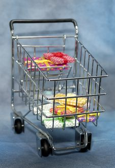 Free Shopping Cart Stock Photo - 1253470