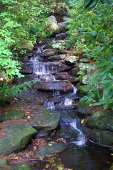 Free Waterfall Rivulet Stock Photo - 1253620