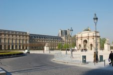 Free Louvre Gate Royalty Free Stock Photography - 1253667