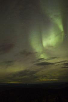 Free Swirling Aurora Borealis Stock Photography - 1254872