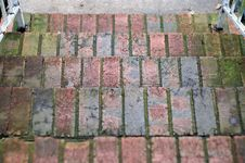 Old Brick Steps Stock Photos