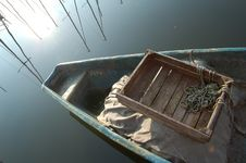Solitary Boat Royalty Free Stock Image