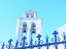 Free Church In Serifos Royalty Free Stock Image - 1255186