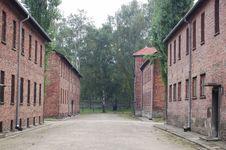 Free Auschwitz Royalty Free Stock Image - 1255266