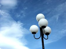 Free Lamppost II Royalty Free Stock Photos - 1256508