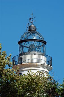Free White Lighthouse Stock Photo - 1256530