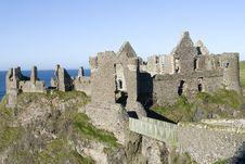 Free Dunluce Castle Stock Photography - 1256552