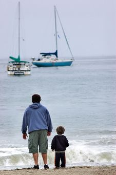 Free Father And Son Stock Photography - 1256792