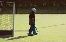 Free Hockey Goalkeeper Royalty Free Stock Photo - 1257235