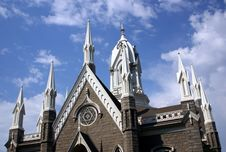 Free Assembly Church At Temple Square Royalty Free Stock Images - 1257459