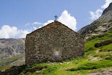 Free Swiss Chapel Royalty Free Stock Image - 1257626