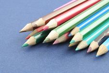 Free Coloured Pencils Stock Photography - 1258232
