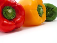 Free Fresh Peppers Royalty Free Stock Images - 1258559