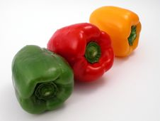 Free Fresh Peppers Stock Image - 1258561