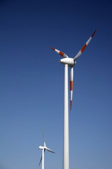 Free Wind Energy Station Stock Photo - 1259740