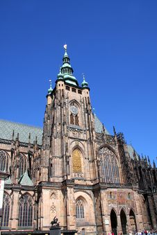 Free St. Vitus Cathedral Stock Image - 1259761