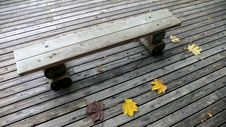Free Bench In Autumn Park Stock Photos - 1259843