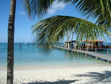 Free Body Of Water, Resort, Caribbean, Tropics Royalty Free Stock Photo - 125016205