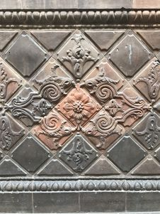 Free Stone Carving, Metal, Structure, Pattern Stock Photo - 125016240